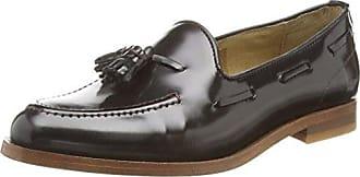 Hudson Tegan Hi Shine, Zapatos de Cordones Derby para Mujer, Negro, 36 EU