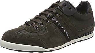 Akeen, Sneakers Basses Homme, Vert (Dark Green 308), 46 EUHUGO BOSS