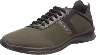 Boss Athleisure Akeen, Zapatillas para Hombre, Verde (Dark Green 308), 40 EU HUGO BOSS