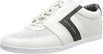 Mens Fusion_Tenn_ltexo 10195392 01 Low-Top Sneakers, White HUGO BOSS