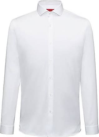Chemise Regular Fit en coton à motif à chevrons : « C-Gordon »120.00HUGO BOSS