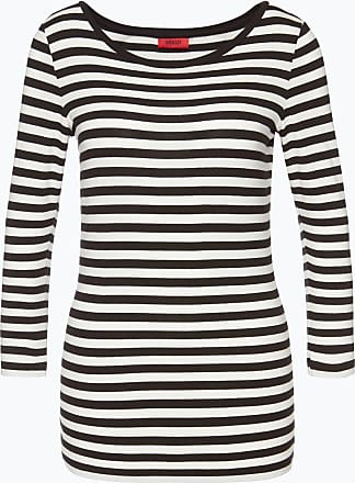 Damen Langarmshirt - Dannela_2 schwarz HUGO BOSS