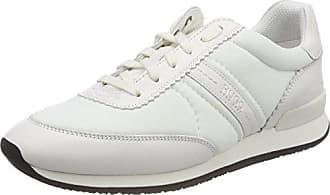 HUGO BOSS Hackney-c, Sneakers Basses Femme, (White), 41 EU