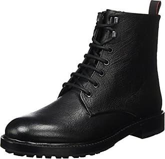 Defend_desb_GR 10201463 01, Desert Boots Homme, Noir (Black),43 EU(9 UK)HUGO BOSS