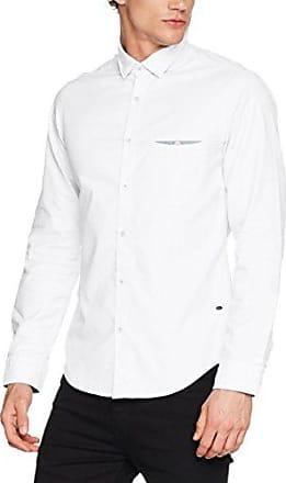 Eynold, Camisa para Hombre, Blanco (Open White 199), Small HUGO BOSS