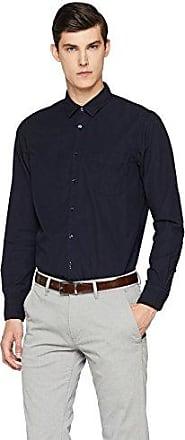 Cattitude_1, Camisa para Hombre, Azul (Dark Blue 404), Medium HUGO BOSS