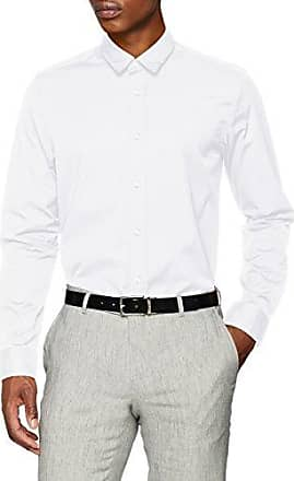 HUGO BOSS Hugo Eynold, Chemise Casual Homme, (Open White 199), Small