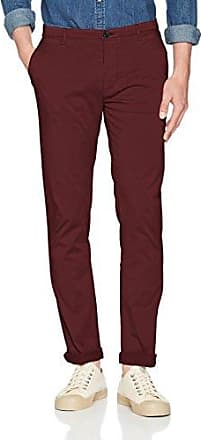 C-rice1-1-d 10199171 01, Pantalones para Hombre, Rojo (Medium Red 614), 50 HUGO BOSS