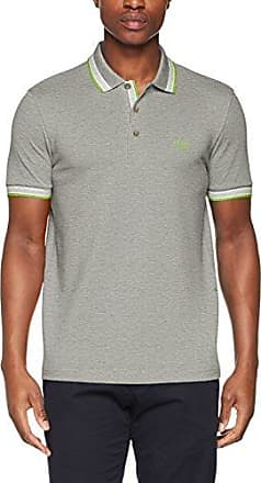 Piro 10208569 01, Polo para Hombre, Gris (Light/Pastel Grey 59), Medium HUGO BOSS