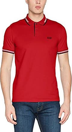 HUGO - Polo - Homme Rouge - - Small