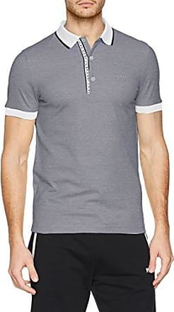 f766ce6d104b3 Prime 10203439 01 Polo para Hombre Blanco White 100 Small HUGO BOSS ...