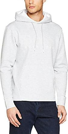 C-Carlton_02, Sudadera para Hombre, Blanco (White), X-Large HUGO BOSS