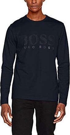 Demeos, Camiseta para Hombre, Blanco (White 100), Large HUGO BOSS