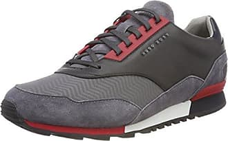 Boss Green Zephir_Runn_Track, Zapatillas para Hombre, Gris (Medium Grey 030), 39 EU