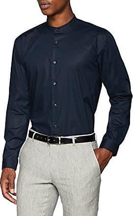 Evory-Logo, Camisa para Hombre, Azul (Navy 413), Medium HUGO BOSS