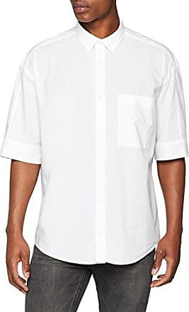 Ero3, Camisa para Hombre, Blanco (Open White 199), Medium HUGO BOSS