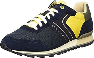 Boss Green Lighter_lowp_CVC 10197554 01, Zapatillas para Hombre, Azul (Dark Blue 401), 44 EU