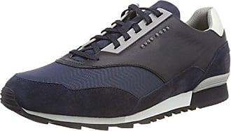 Boss Green Saturn_lowp_Act, Zapatillas para Hombre, Azul (Dark Blue 401), 40 EU
