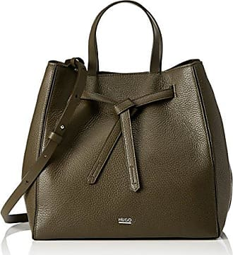 Kingston Tote, Womens Shoulder Bag, Black, 16x35x57 cm (B x H T) HUGO BOSS
