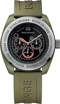 Watch by BOSS Orange 39151310739 Black Silicone Strap 3Hand b638add880