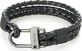 HUGO BOSS Smooth leather bracelet