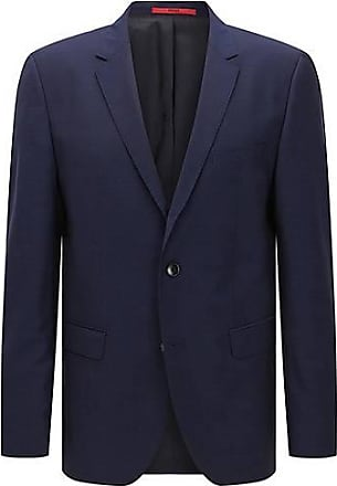 Regular-Fit Blazer aus Schurwolle HUGO BOSS