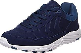 hummel Marathona II, Sneakers Basses Mixte Adulte, Blanc (Pristine White/Foxglove), 41 EU