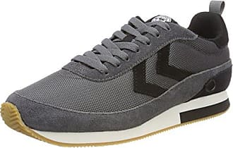 Hummel Slimmer Stadil Duo Canvas Low, Zapatillas Unisex Adulto, Gris (Moon Mist), 37 EU