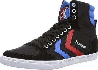 Hummel Fashion - Chaussures Hummel Slimmer Stadil High, de sport - HUMMEL SLIMMER STADI - Gris - Gray - Grau (Castle Rock/White KH 2651), 36 EU (3.5 Erwachsene UK)Hummel