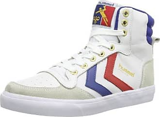 Victory Leather, Sneakers Basses Mixte Adulte, Blanc (White), 40 EUHummel