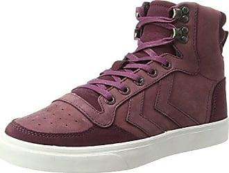 hummel Hml Stadil Winter High, Sneakers Hautes Mixte Adulte, Rouge (Cabernet), 38 EU