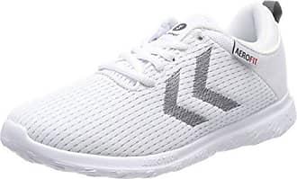 Hummel Crosslite Dot4, Chaussures de Fitness Mixte Adulte, Blanc (White), 47 EU