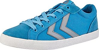 Hummel Deuce Court Summer, Zapatillas Unisex Adulto, Azul (Limoges Blue), 44 EU
