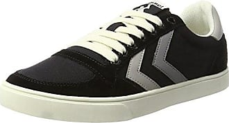 Hummel Stockholm Low, Zapatillas Unisex Adultos, Negro (Black 2001), 46 EU