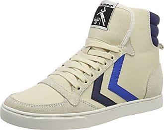 Hummel Slimmer Stadil Duo Canvas High, Sneaker a Collo Alto Unisex - Adulto, Blau (Peacoat/Vintage Indigo), 42 EU