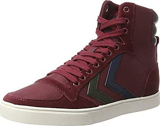hummel Stadil Winter, Sneakers Hautes Mixte Adulte, Rouge (Eggplant), 41 EU