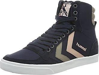 Hummel Slimmer Stadil Duo Canvas Low, Sneaker Unisex - Adulto, Blau (Limoges Blue), 44 EU