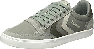 Hummel Cross Court, Zapatillas Unisex Adulto, Gris (Alloy), 44 EU