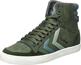 Fashion - Chaussures Slimmer Stadil High, de sport SLIMMER STADI - Noir - Black - Schwarz (Black/White KH 2113), 45 EU (10.5 Erwachsene UK)Hummel
