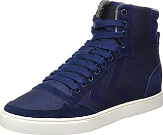 Hummel Slimmer Stadil High - Sneaker a collo alto Unisex Adulto, Blu (Dress Blue/White Kh 7647), 39 EU
