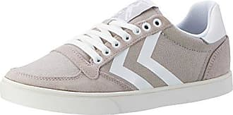 Hummel Slimmer Stadil Waxed Canvas Lo-Top, Sneakers Basses Mixte Adulte, (Dove), 36 EU