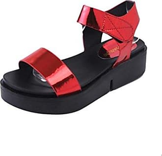 2d4df614882917 Damenschuhe Sommer lässig flachen Fuß römischen Sandalen Flip Flops  Sandalen Schuhe (38