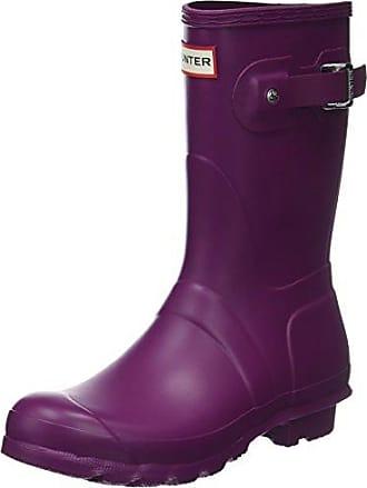 Hunter Wellington Boots, Bottes et Bottines de Pluie Femme, Argent (Silver Sil), 43 EU