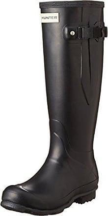 Hunter Field Norris Chealsea Boots Women - Gummistiefel - black - Gr.38 - UK 5