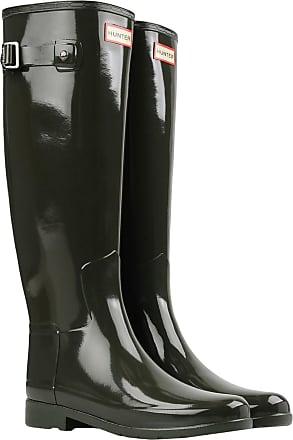 Hunter Original Tall Gloss W23616, Bottes de pluie femme - Marron-TR-J2-41, 35.5 EU
