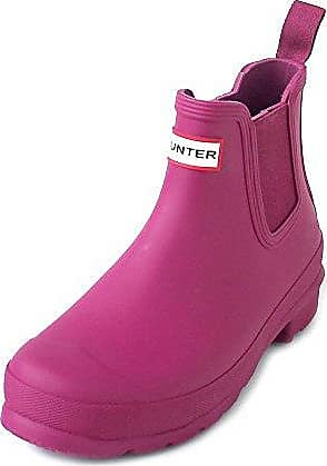 Hunter W Original Chelsea Dark ion Pink