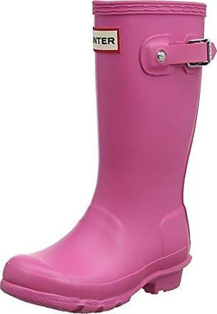 Hunter Gloss Wellington Boots, Bottes et Bottines de Pluie Fille, Jaune (Yellow/Ryl), 33 EU