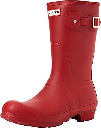 Hunter High Wellington Boots, Botas de Agua Para Mujer, Blanco (White Wht), 42 EU