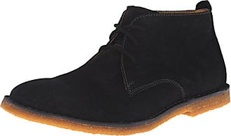 Nash Theron, Boots homme - Noir (Black Leather), 45 EU (10 UK) (11 US)Hush Puppies