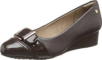 Hush Puppies Maybe Marloe, Zapatos de Tacón con Punta Cerrada para Mujer, Marrón (Dark Brown), 37 EU